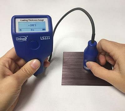 coating thickness gauge measurement mode