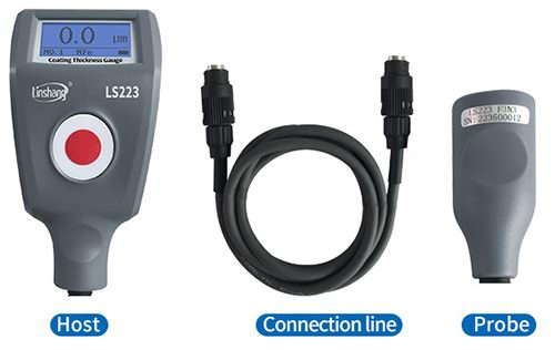 coating thickness gauge with seperate probe