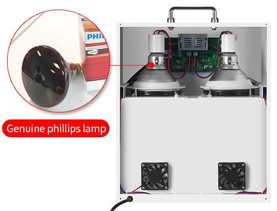 solar film temperature meter back