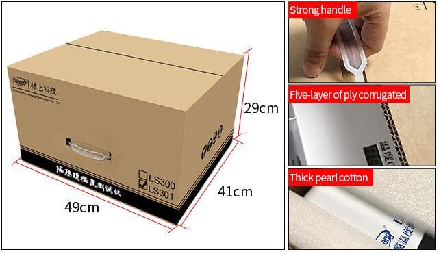 LS301 Solar film temperature meter package