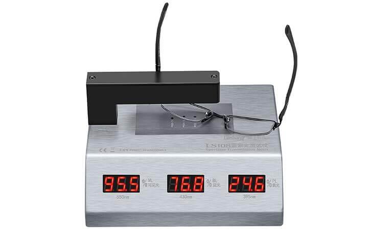 blue-violet light transmittance meter