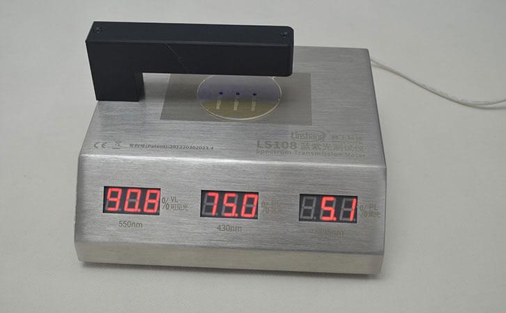 lens transmission meter