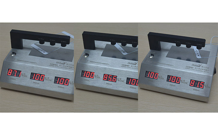 lens light transmission meter