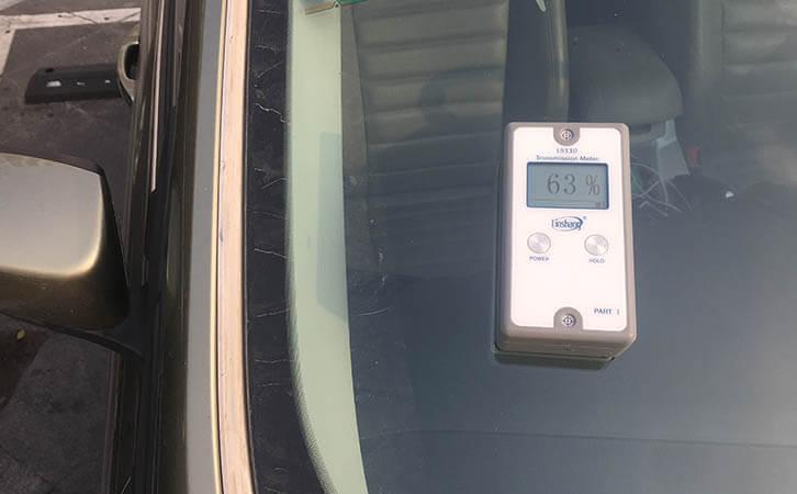 LS110 car window tint meter