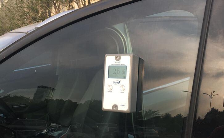 LS110 window tint light meter