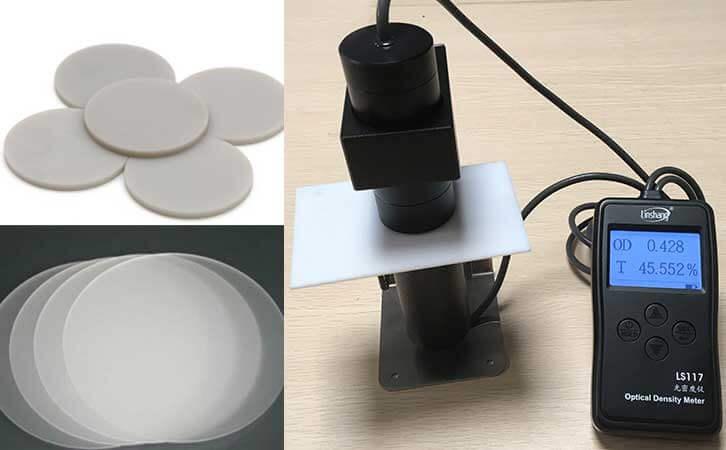 advanced light transmittance meter