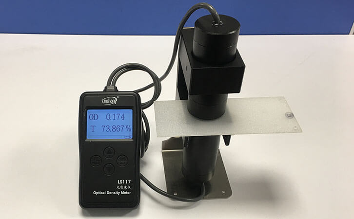 LS117 optical density meter