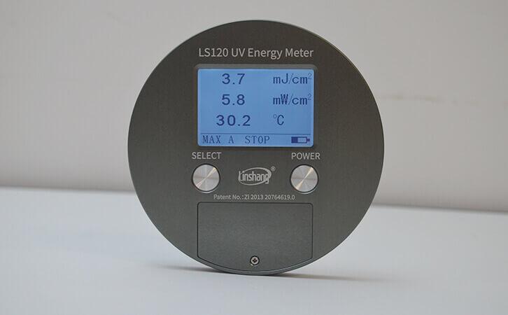 UV radiometer puck