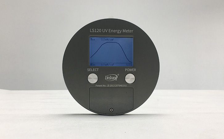 UV energy meter manual measurement mode