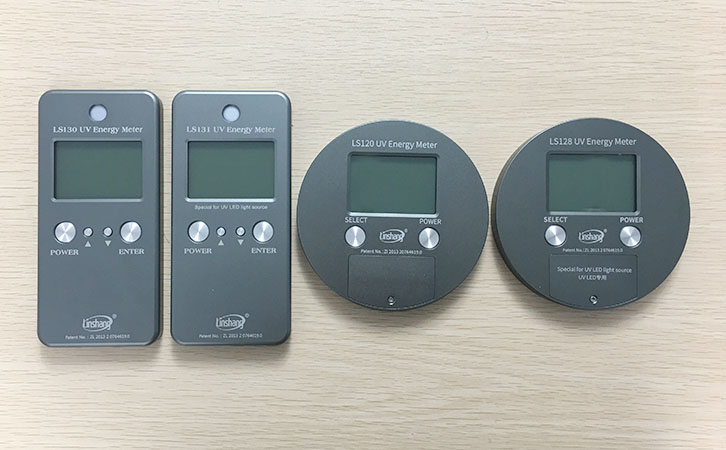 UV energy meters