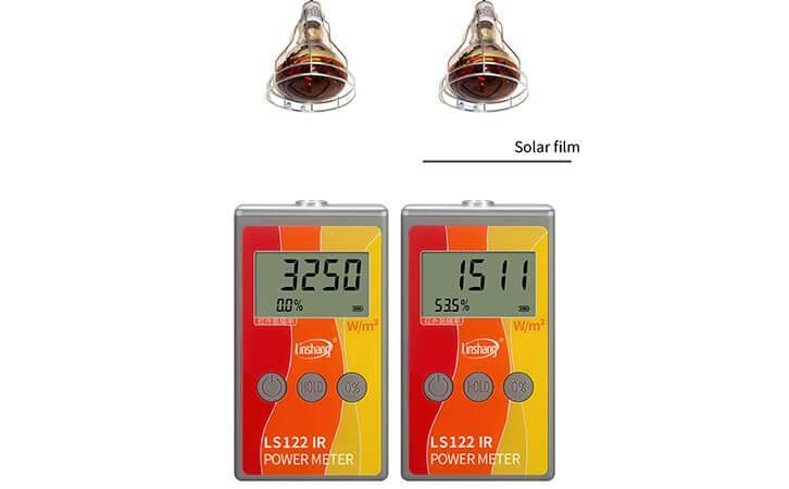 infrared power meter