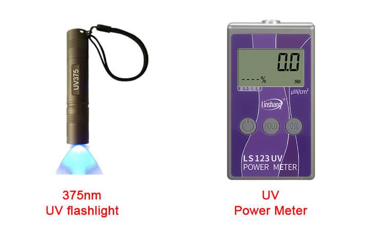 123 UV power meter