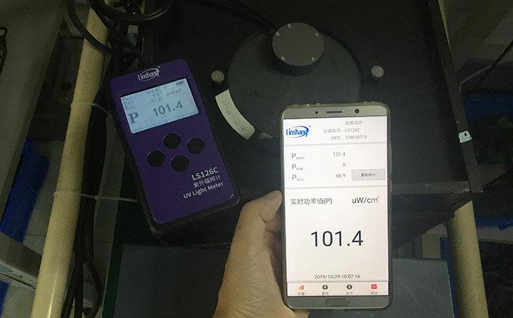 LS126C UV intensity meter