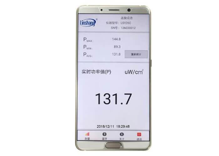 uv light meter app