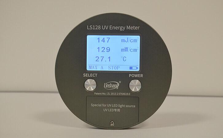LS128 UV radiometer puck