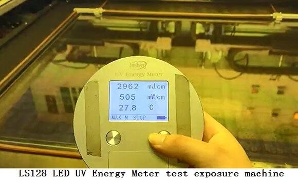 LS128 LED UV  Energy Meter test exposure machine