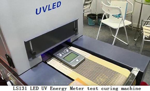 LS131 LED UV Energy Meter test curing machine