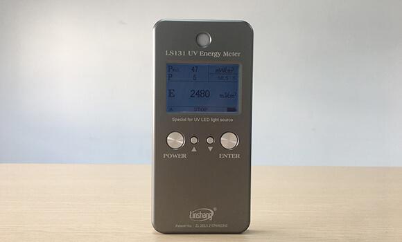 UV LED energy meter