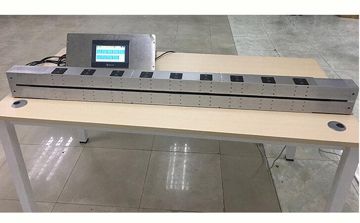 Vacuum Online Light Transmittance Meter in Gold Foil Industry