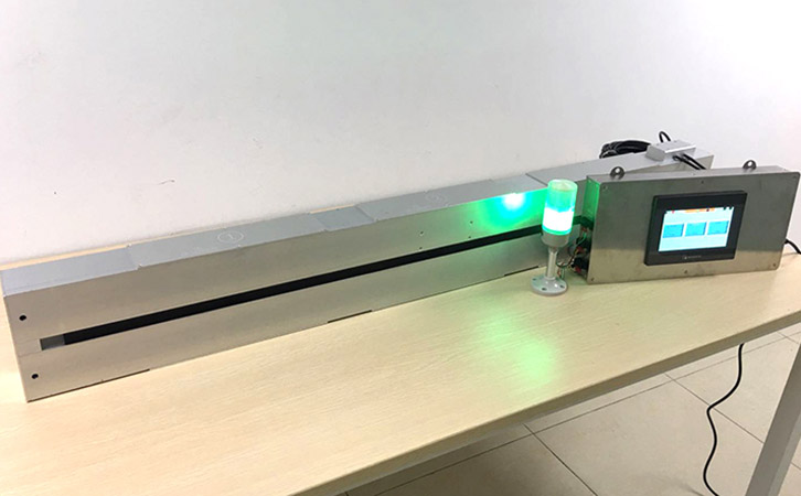 vacuum coating thickness measuring system