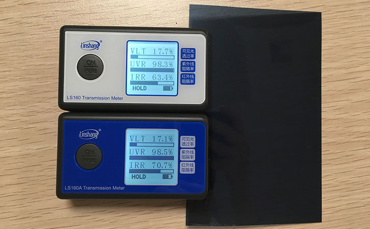 LS160 and LS160A tint meter