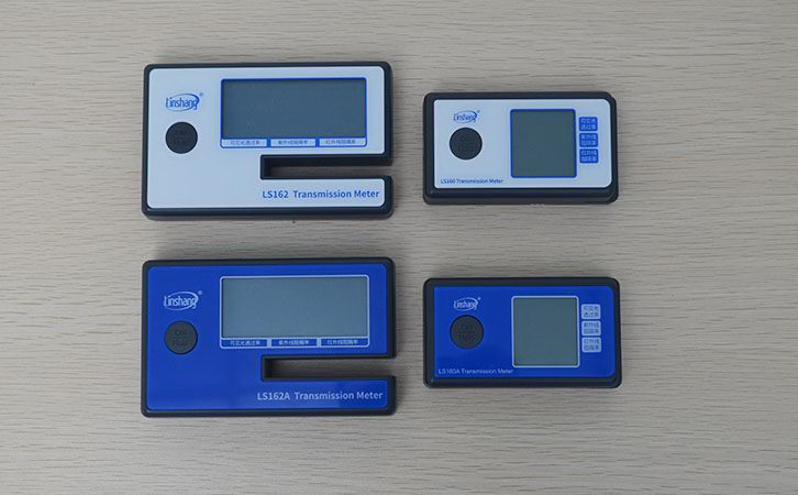 Difference between Four Portable Tint Meters