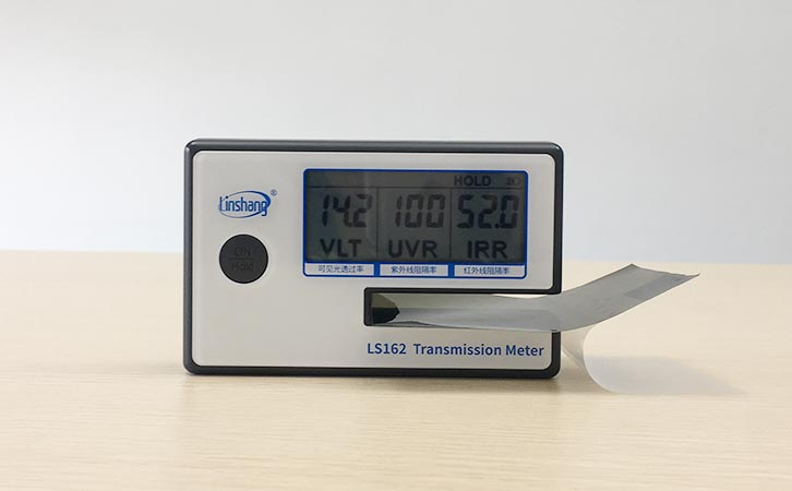What is the Difference Between the Window Tint Meter LS162 and LS163?