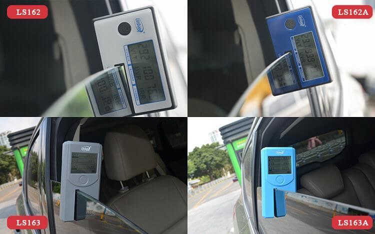 window tint measurement device