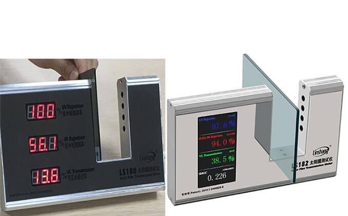 Classification and Identification of Solar Film    Window Tint Light Meter