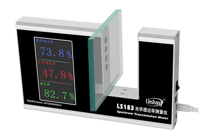 LS183 visible light transmission meter