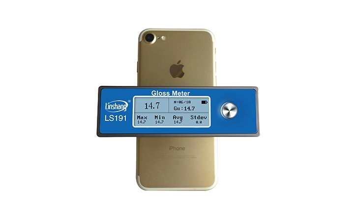 LS191 Gloss Meter Measure Surface of Iphone