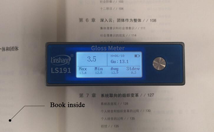Paper Gloss Meter Measurement Angle Selection