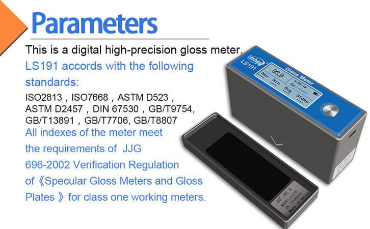 gloss meter standard