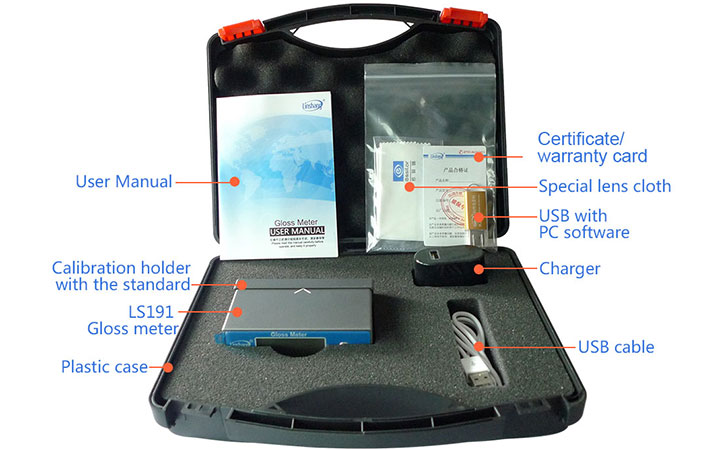 gloss meter packing case