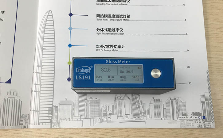 gloss meter for printing industry