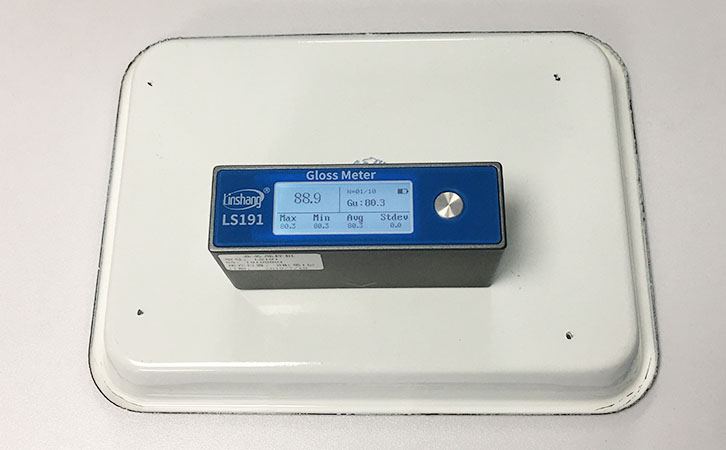 gloss meter test enamel products