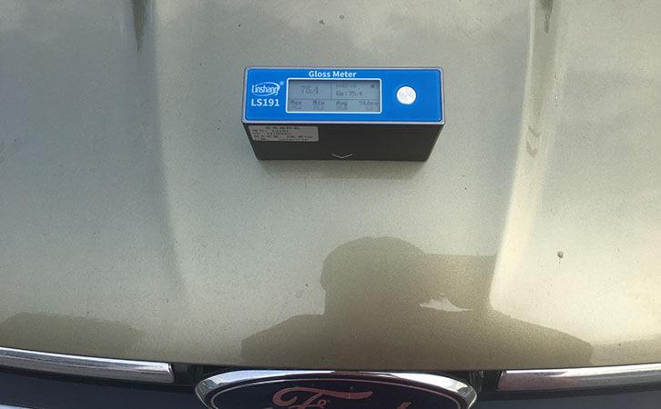 gloss meter test car paint gloss