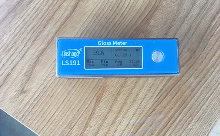 furniture gloss tester