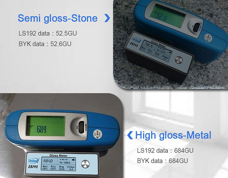 LS192 portable gloss meter