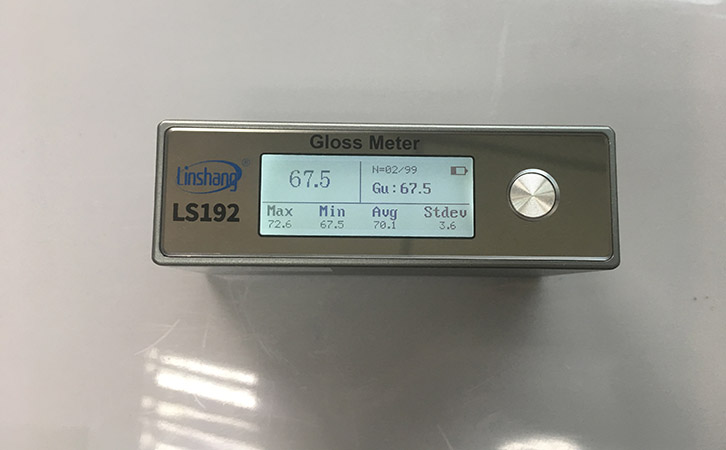 gloss meter  for plastic
