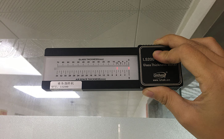 How to Measure the Uninstalled Glass Thickness?