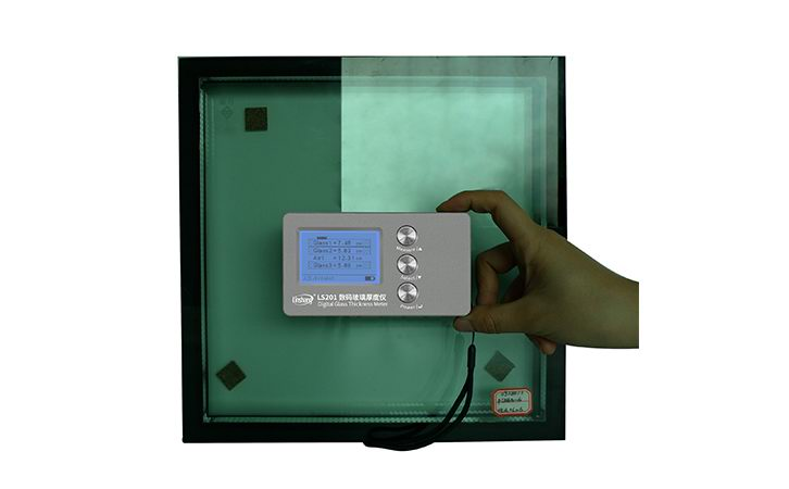 201 digital glass thickness meter
