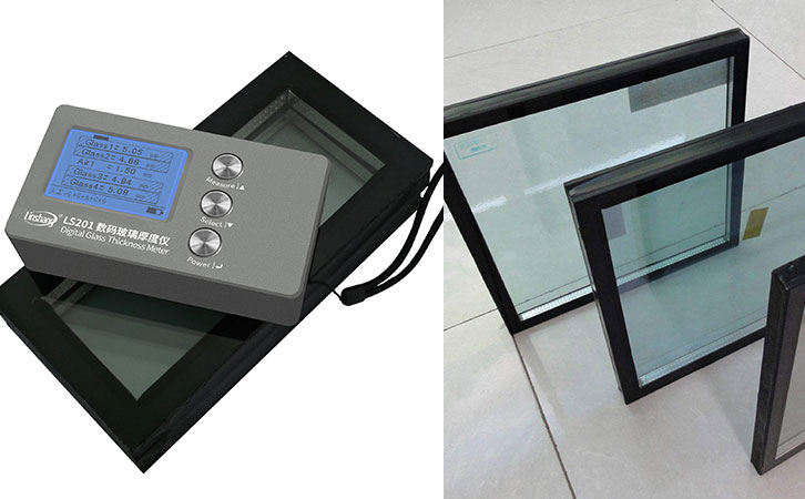 LS201 insulated glass thickness gauge