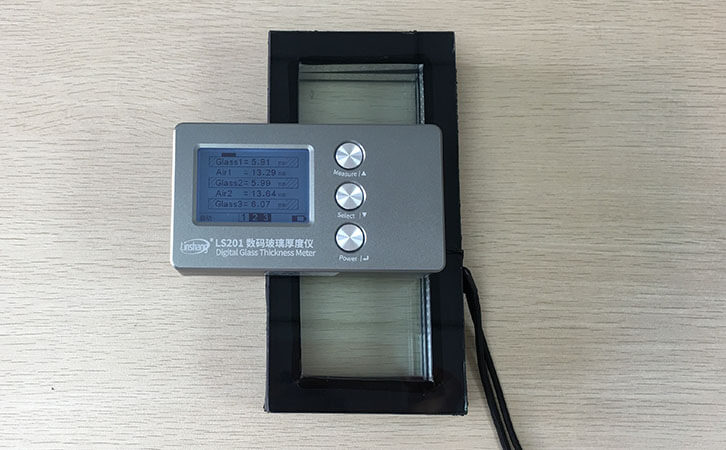 LS201 glass thickness meter