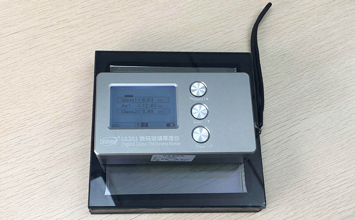 Frosted Glass Thickness and Measurement With Digital Glass Thickness Meter