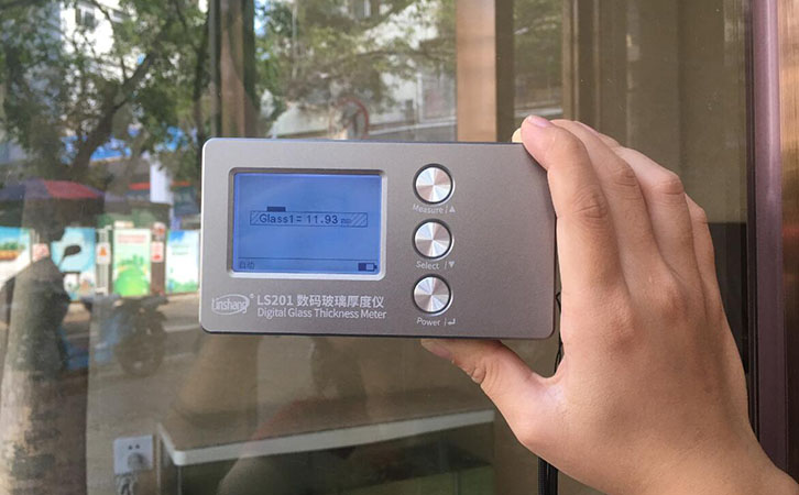 Glass Thickness Inspection