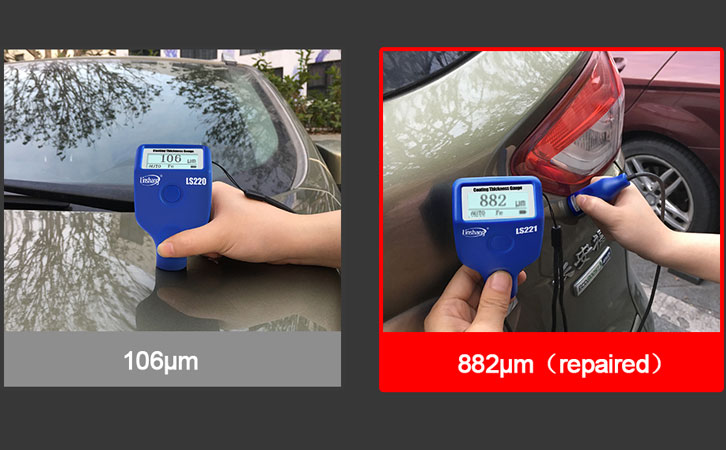 Used cars coating thickness gauge