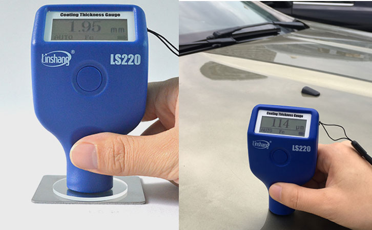 Paint Thickness Measurement Unit Designed for Used Car