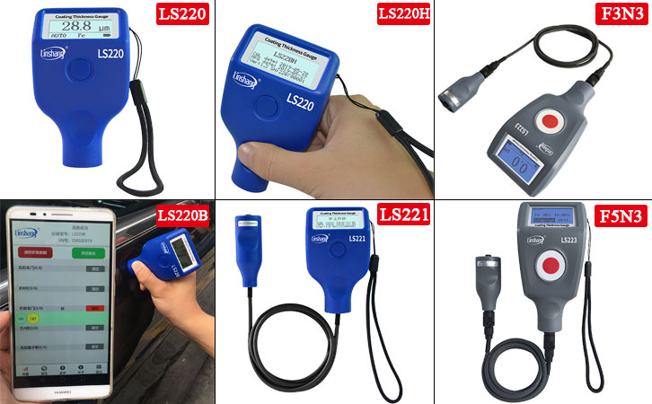 How to Select Suitable Automotive Paint Meters