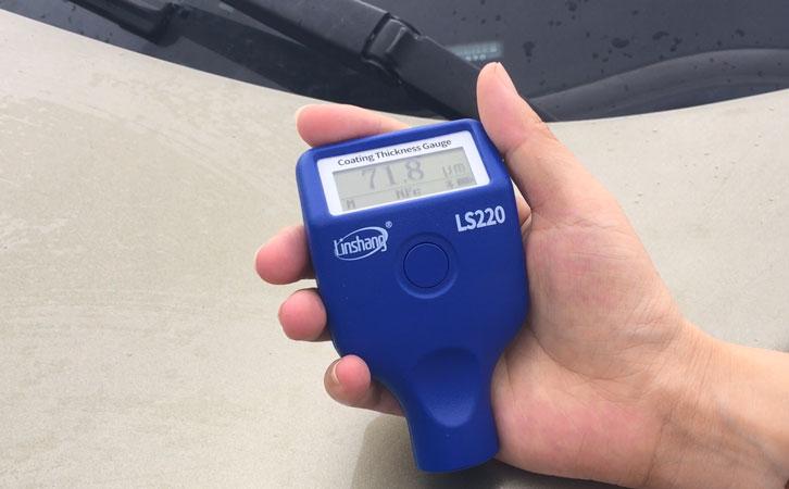 LS220 paint thickness gauge